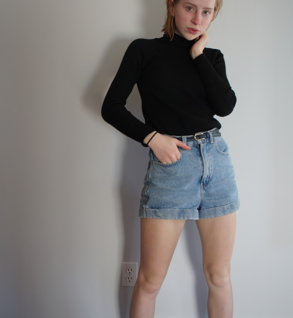 Turtleneck + Shorts