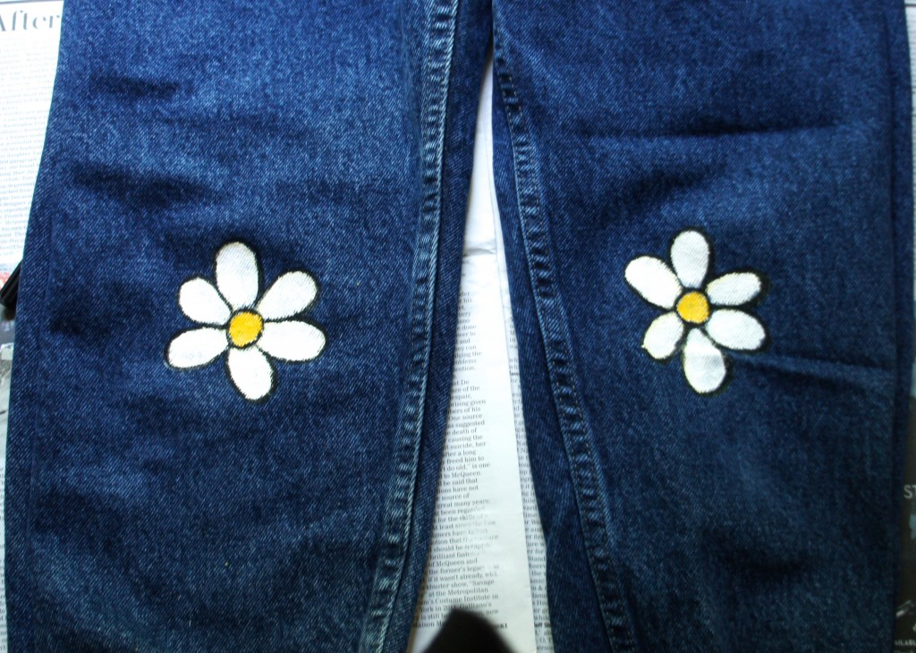 daisy jeans // no longer grey